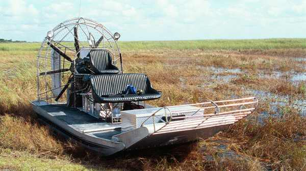 Boat Type: Airboat